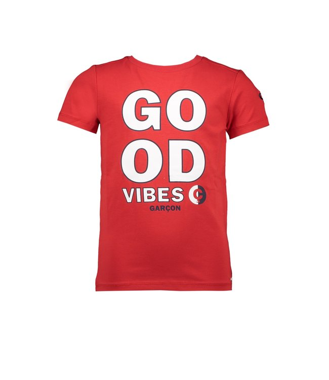Le chic garçon Le chic garçon : Rode T-shirt Good vibes
