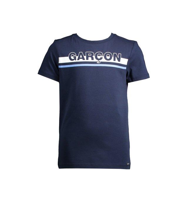 Le chic garçon Le chic garçon : Blauwe T-shirt Garçon