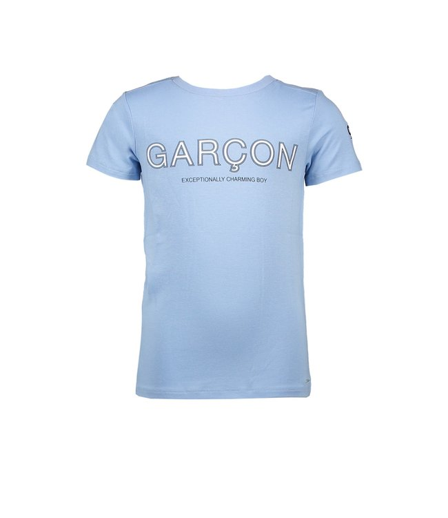 Le chic garçon Le chic garçon : Lichtblauwe T-shirt Garçon