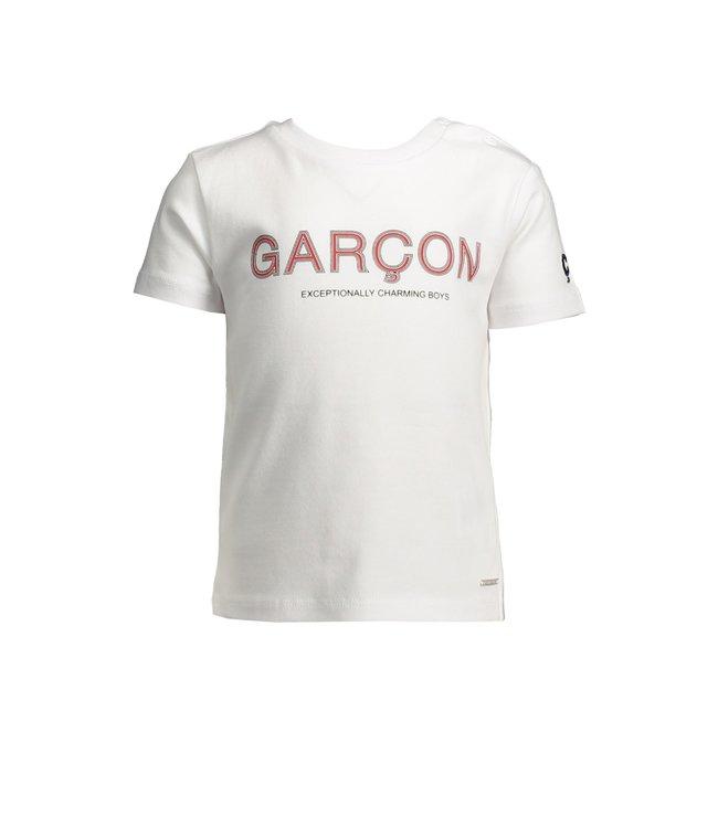 Le chic garçon Le chic garçon : Witte T-shirt Garçon