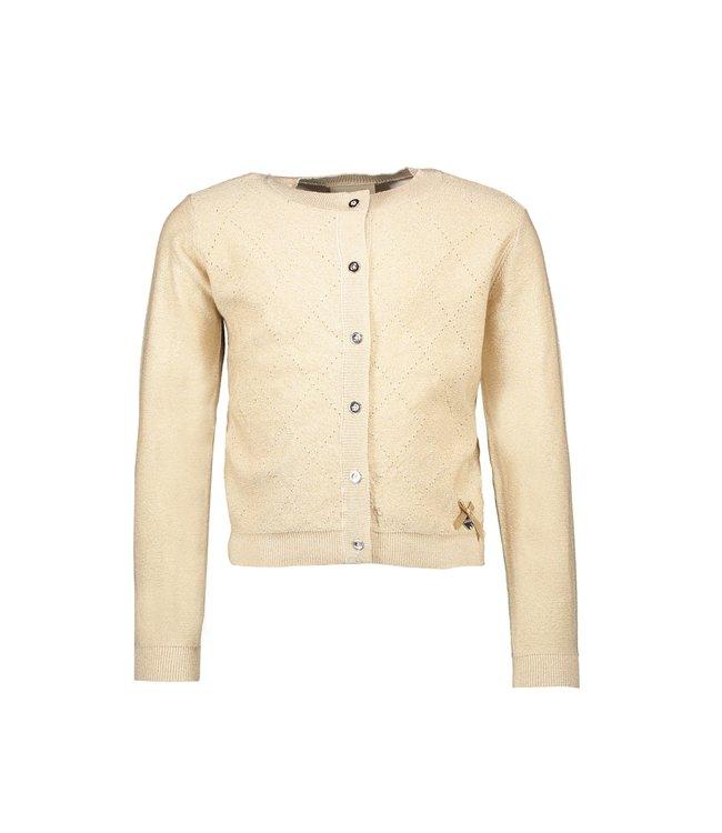 Le chic Le chic : Gouden cardigan