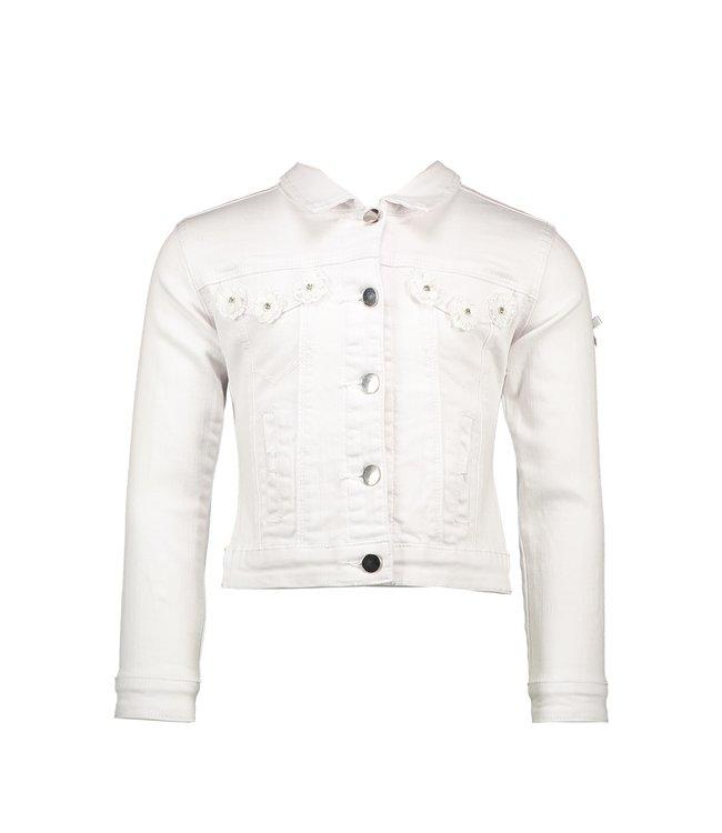 Le chic Le chic : Wit jeansjasje