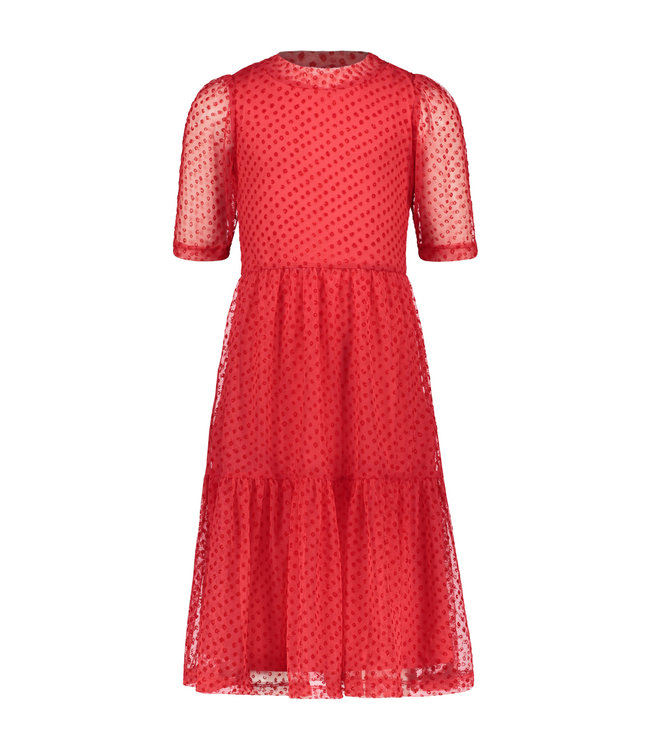Like Flo Like Flo : Halflang rood kleed