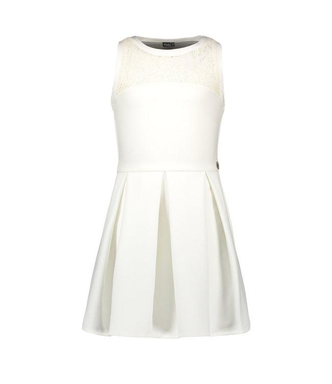 Like Flo Like Flo : Wit kleed met kanten rug