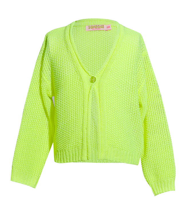 Someone Someone : Fluogele cardigan March