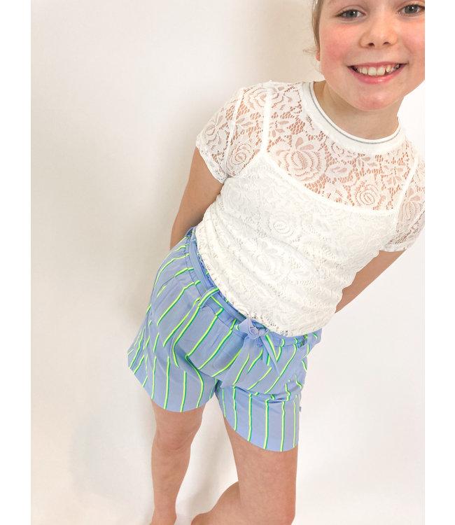 Someone Someone : Kanten blouse Glamour