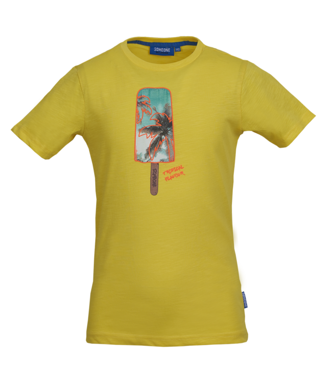 Someone Someone : T-shirt Resort (Yellow)