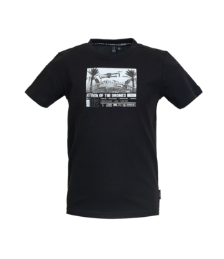 Someone Someone : T-shirt Drone (Black)