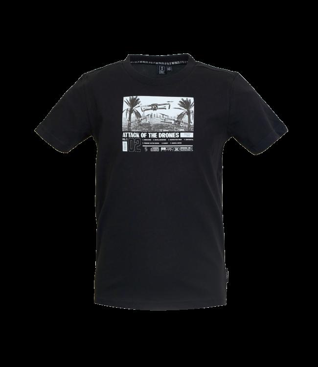 Someone Someone : T-shirt Drone (Black)