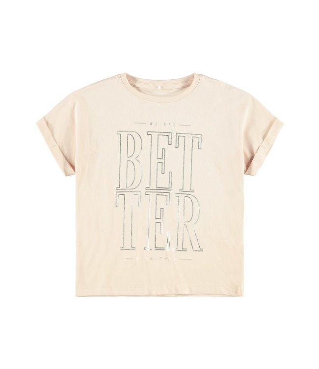 Name it Name it : T-shirt Bisan (Peach whip)