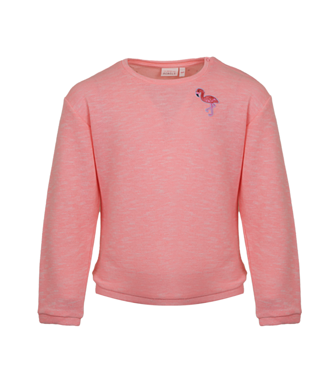 Mini Rebels Mini Rebels : Sweater Maly (fluo pink)