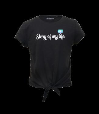 Someone Someone : T-shirt Social (Black)