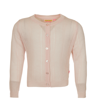 Someone Someone : Cardigan Home (Soft pink)