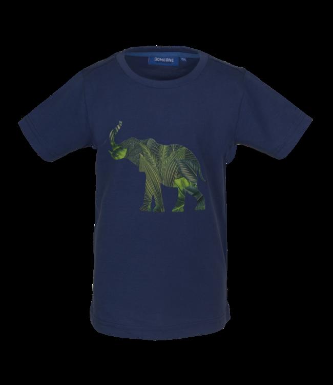 Someone Someone : T-shirt Kenya (Dark blue)