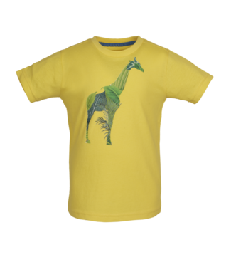Someone Someone : T-shirt Kenya (Yellow)