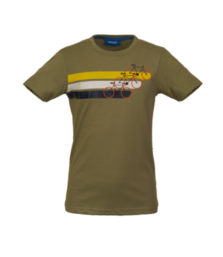 Someone Someone : T-shirt Cycle (Light khaki)