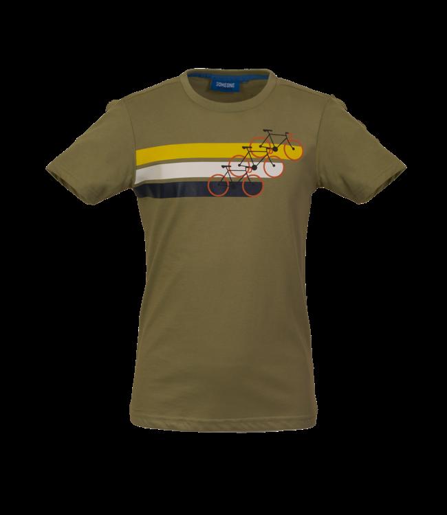 Someone Someone : T-shirt Cycle (Light khaki)
