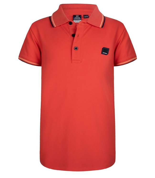 Indian Blue Jeans Indian Blue Jeans : Polo Basic (Red orange)