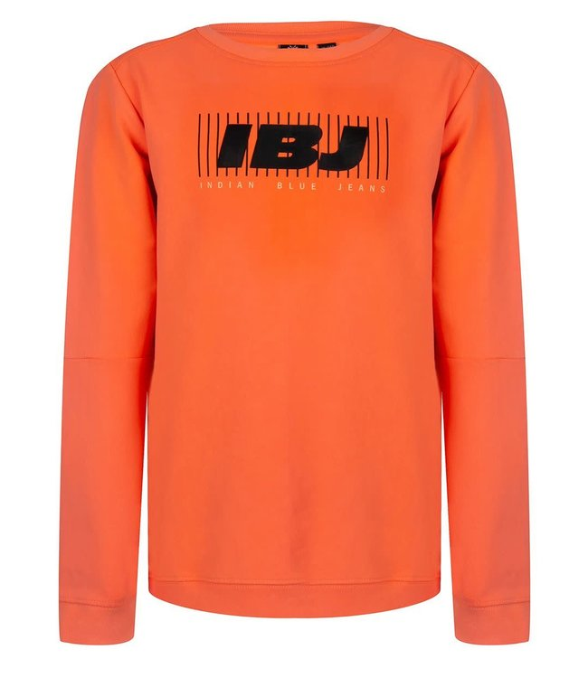Indian Blue Jeans Indian Blue Jeans : Sweater IBJ (Bright orange)