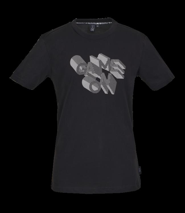 Someone Someone : T-shirt Type (Black)