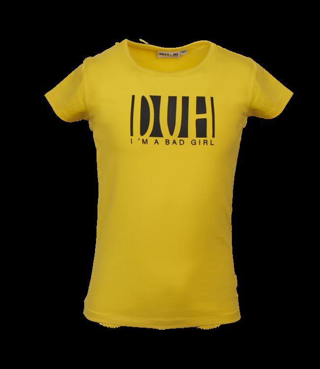 Someone Someone : T-shirt Like (Yellow)
