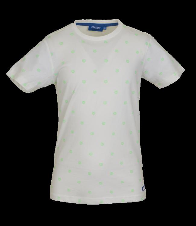 Someone Someone : T-shirt Rajah (White)