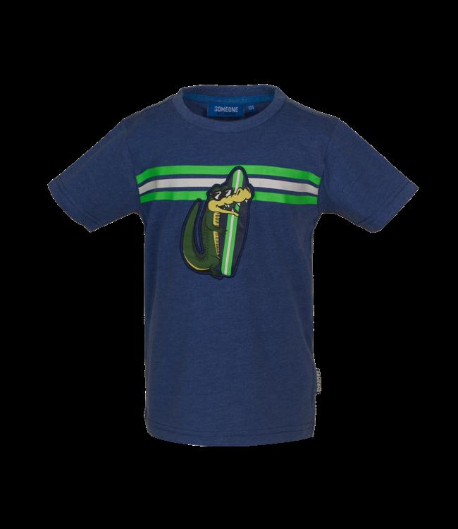 Someone Someone : T-shirt Take (Dark blue)