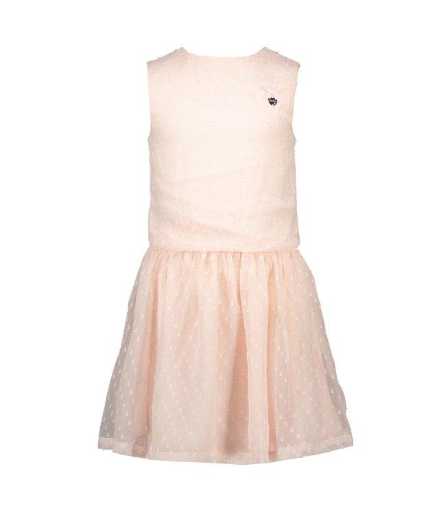 Le chic Le chic : Roze kleed met riempje