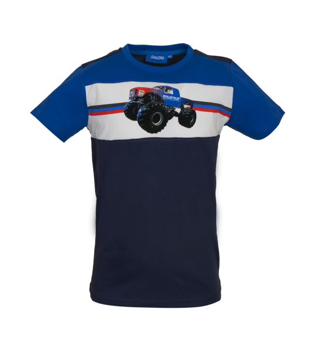 Someone Someone : T-shirt Victor (Blue)