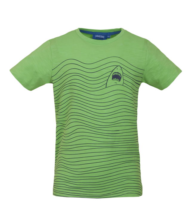 Someone Someone : T-shirt Jawsy (Fluo green)
