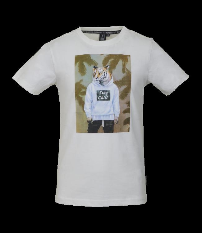Someone Someone : T-shirt Jungo (ecru)