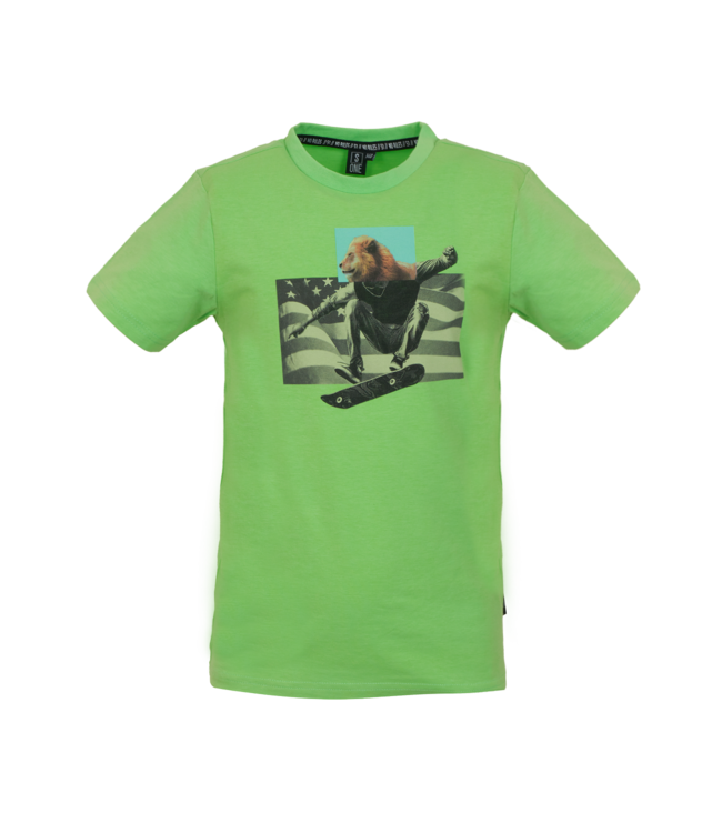 Someone Someone : T-shirt Type (Fluo green)