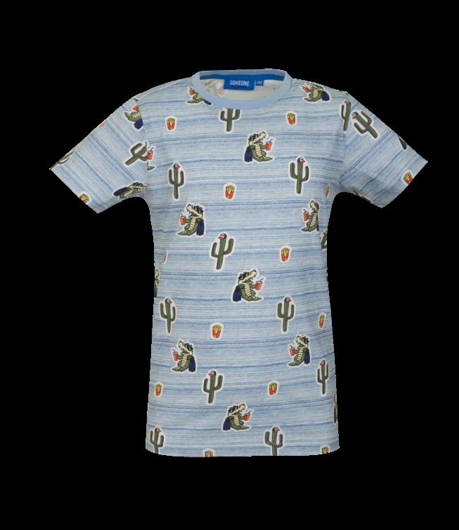 Someone Someone : T-shirt Take (Blue mix)