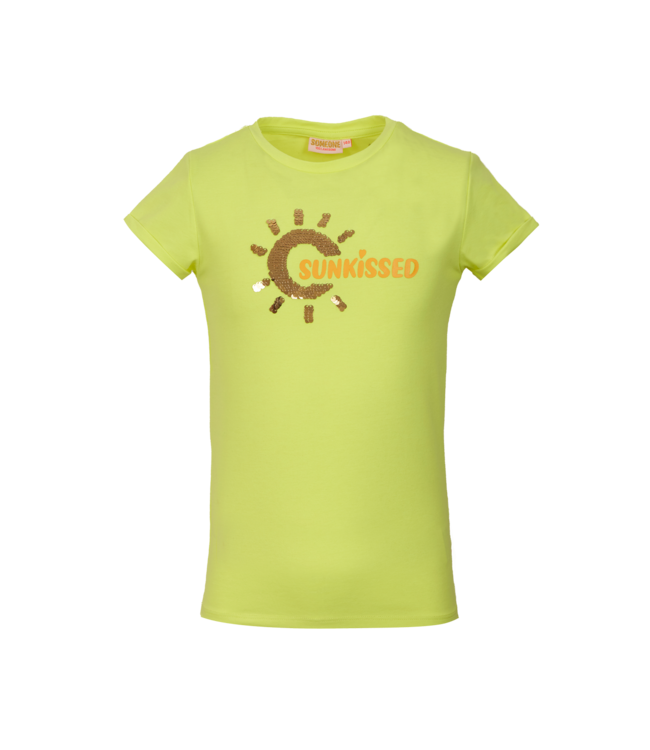 Someone Someone : T-shirt March (Fluo yellow)