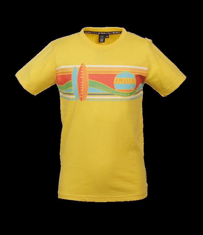 Someone Someone : T-shirt Wave (Yellow)