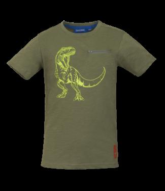 Someone Someone : T-shirt Dinos (Light khaki)