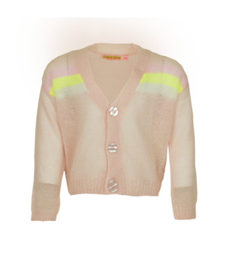 Someone Someone : Cardigan Fiore (soft pink)