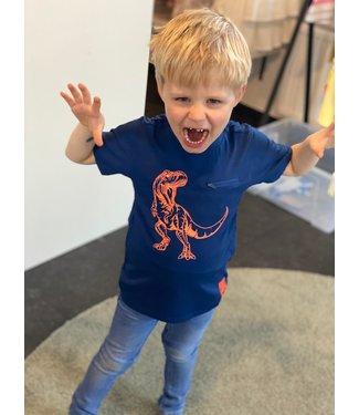 Someone Someone : T-shirt Dinos (Dark blue)