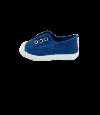 Cienta Cienta : Sneaker Azul Lavad