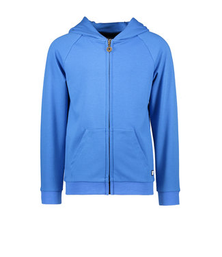 Like Flo Like Flo : Kobalt hoodie met rits