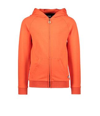 Like Flo Like Flo : Rode hoodie met rits