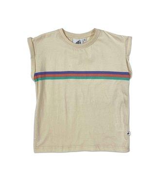 Cos I Said So Cos I Said So : Boxy T-shirt Rainbow Navajo