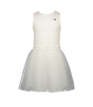 Le chic Le chic : Wit kleed met tulle rok