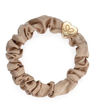 ByEloise ByEloise : Silk scrunchie Taupe