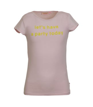 Someone Someone : T-shirt Fiore (Soft pink)