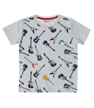 UBS.2 UBS.2 : T-shirt met gitaren
