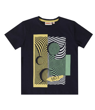 UBS.2 UBS.2 : Blauwe T-shirt Illusie