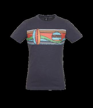 Someone Someone : T-shirt Wave (Antracite)
