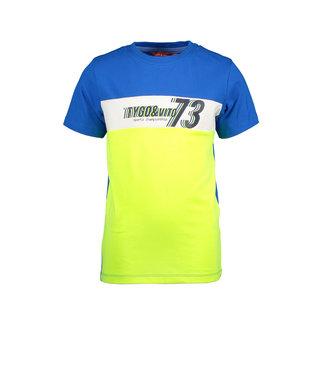 Tygo & Vito Tygo & Vito : T-shirt 73 (Kobalt)