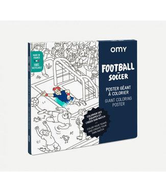 OMY OMY : Kleurposter - FOOTBALL